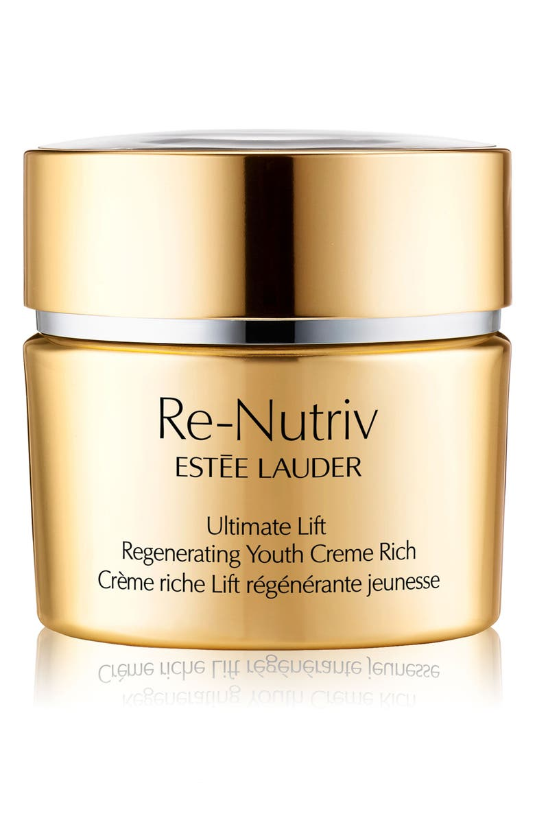 ESTÉE LAUDER Re-Nutriv Ultimate Lift Regenerating Youth Creme Rich, Main, color, NO COLOR