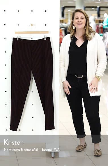 Rocky Slim Fit Pinstripe Trousers, sales video thumbnail