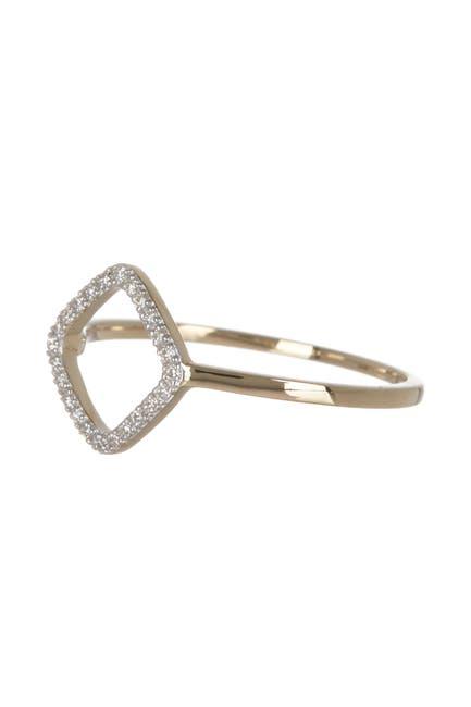 Image of BREUNING 14K Yellow Gold Diamond Ring - 0.12 ctw - Size 7