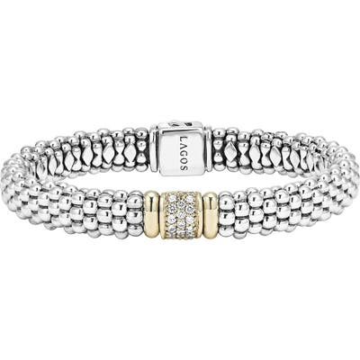 Lagos Diamond & Caviar Station Bracelet
