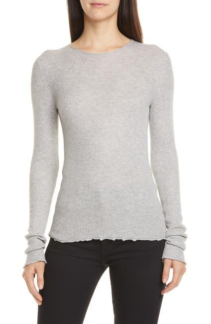 Image of Vince Rib Crewneck Sweater