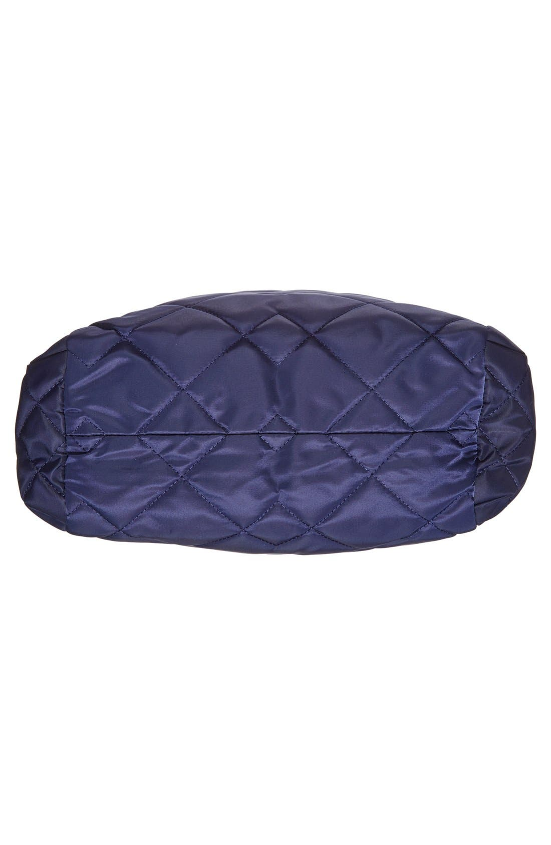,                             MARC BY MARC JACOBS 'Crosby' Quilted Nylon Tote,                             Alternate thumbnail 4, color,                             401