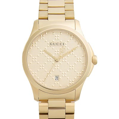 Gucci Round Bracelet Watch,