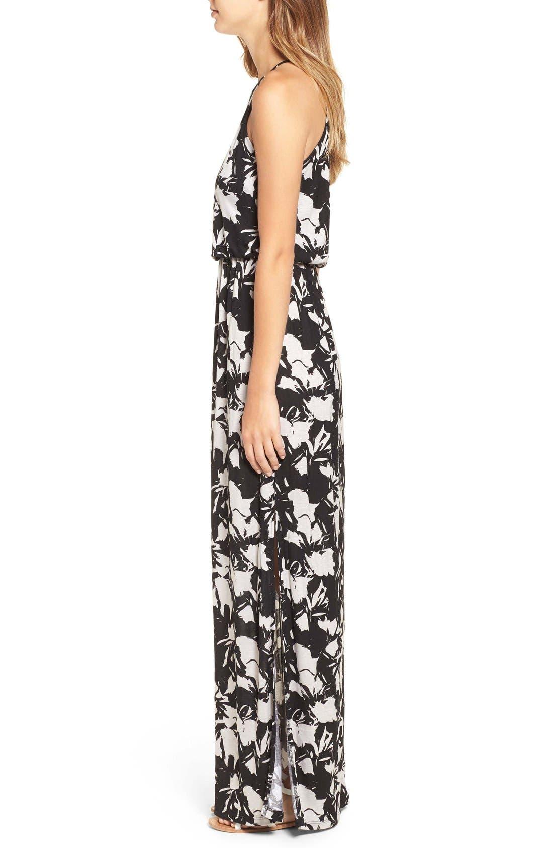 ,                             High Neck Maxi Dress,                             Alternate thumbnail 64, color,                             250