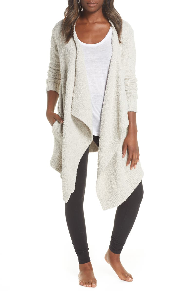 UGG<SUP>®</SUP> Phoebe Wrap Cardigan, Main, color, DRIFTWOOD
