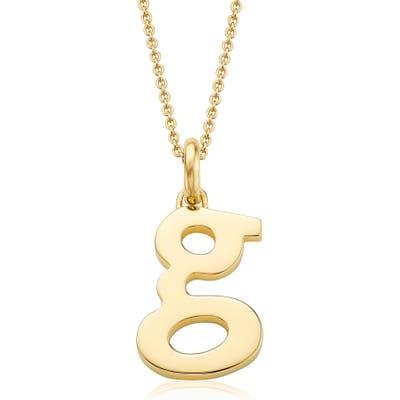 Monica Vinader Alphabet Pendant