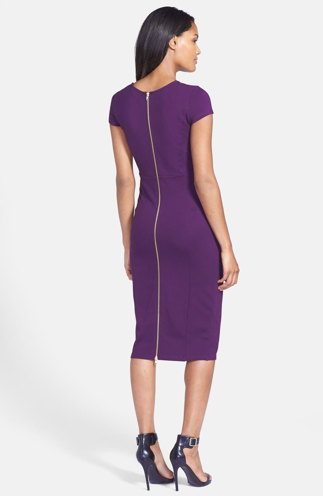 ,                             Ward Seamed Pencil Dress,                             Alternate thumbnail 46, color,                             506
