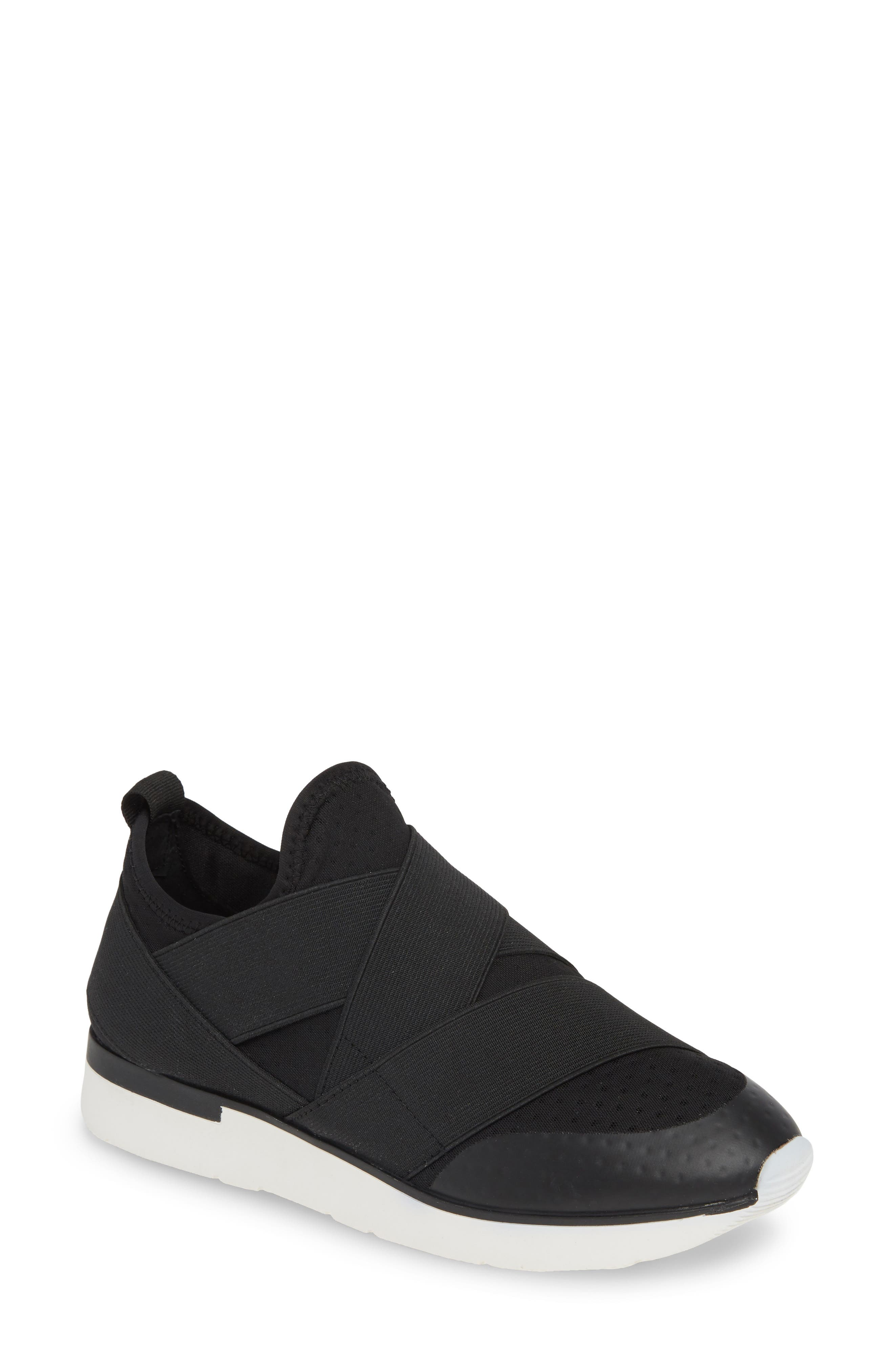 Jslides Ginny Slip-On Sneaker, Black