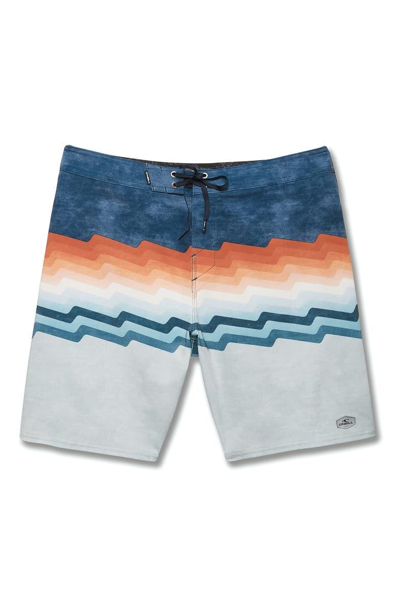 O'NEILL Hyperfreak Bolts Board Shorts, Main, color, NAVY