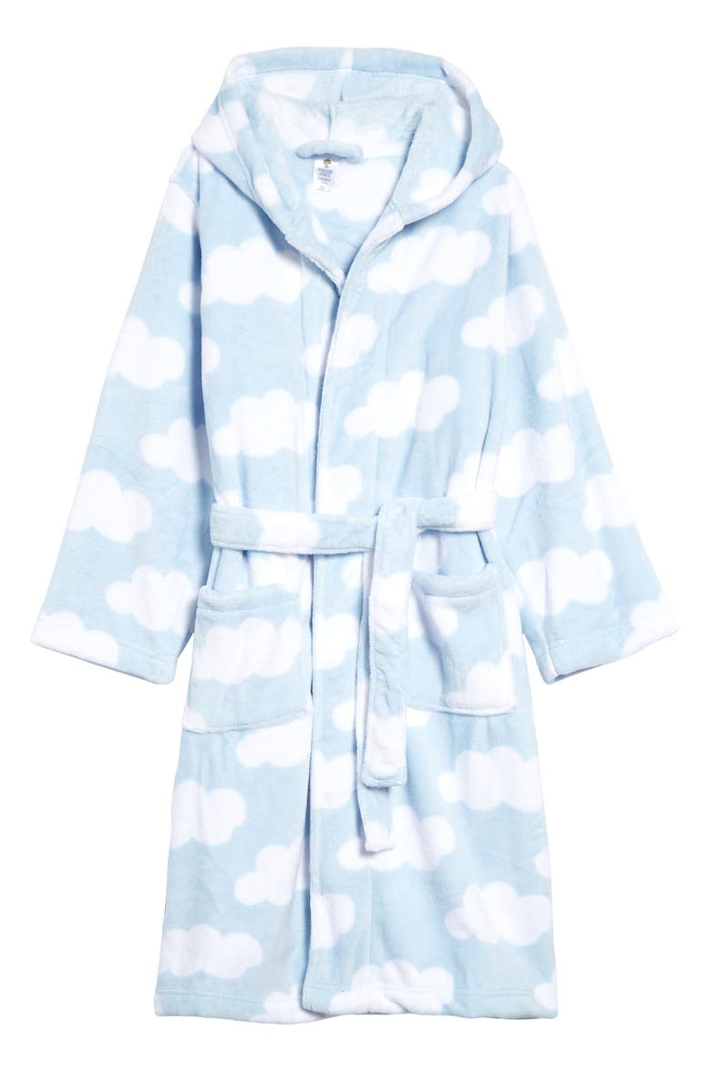 TUCKER + TATE Kids' Hooded Fleece Robe, Main, color, NO_COLOR