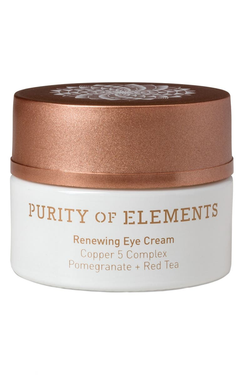 PURITY OF ELEMENTS Renewing Eye Cream, Main, color, 000
