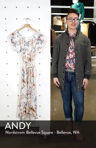 Connie Off the Shoulder Midi Dress, sales video thumbnail