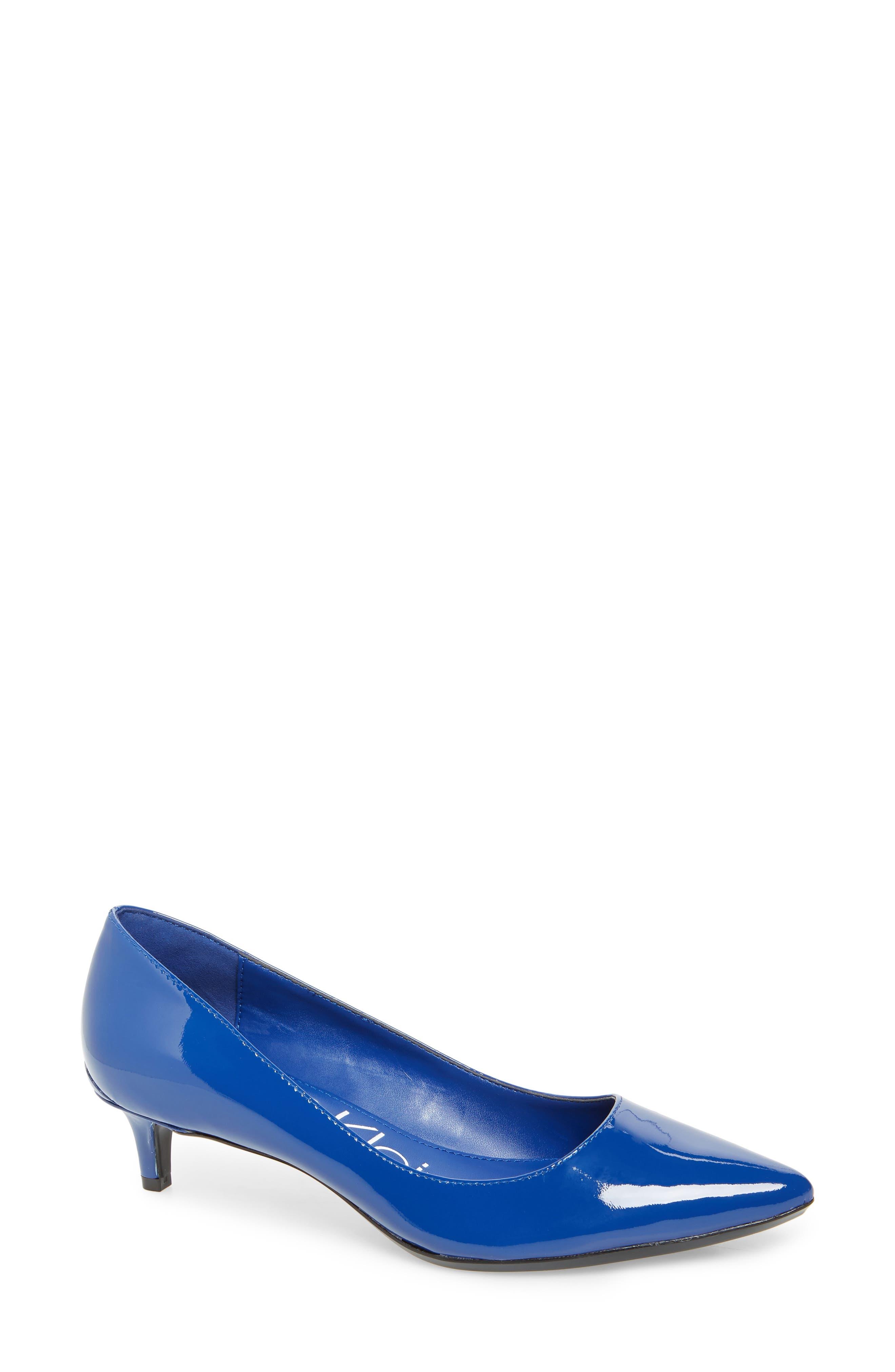 Calvin Klein Gabrianna Pump- Blue