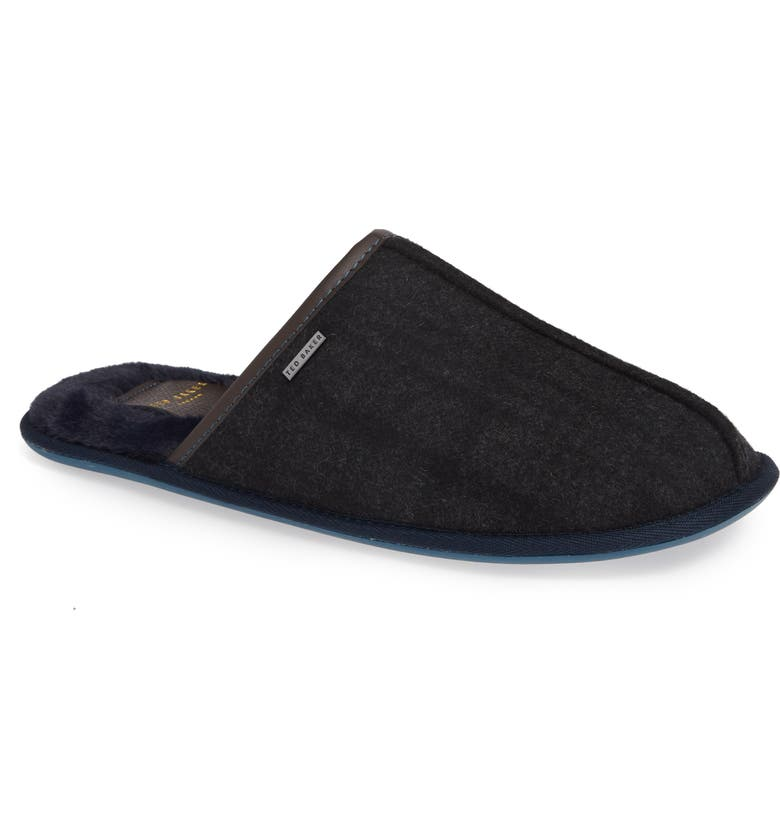 TED BAKER LONDON Ayntin Scuff Slipper, Main, color, 028