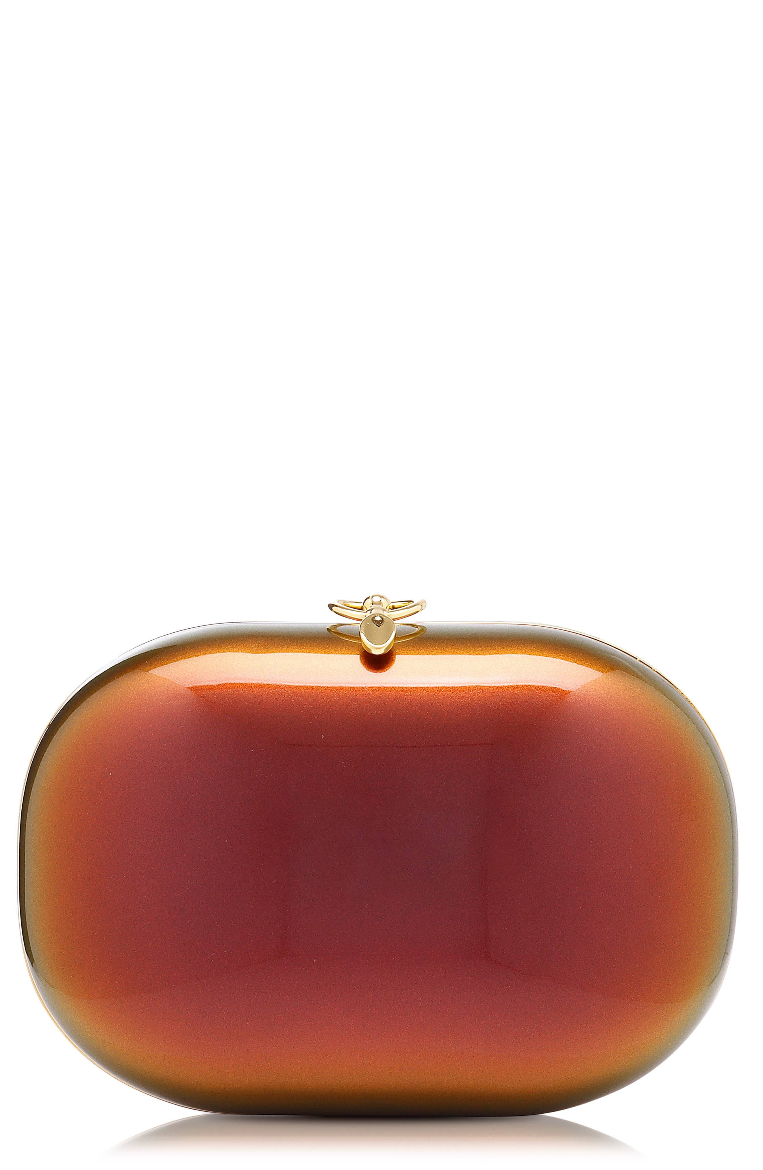 Elina Sunset Pearl Iridescent Clutch