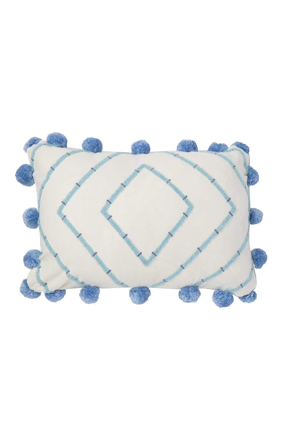 "Image of Nordstrom Rack Diamond Tufted Pillow - 14""x20"" - Multi"