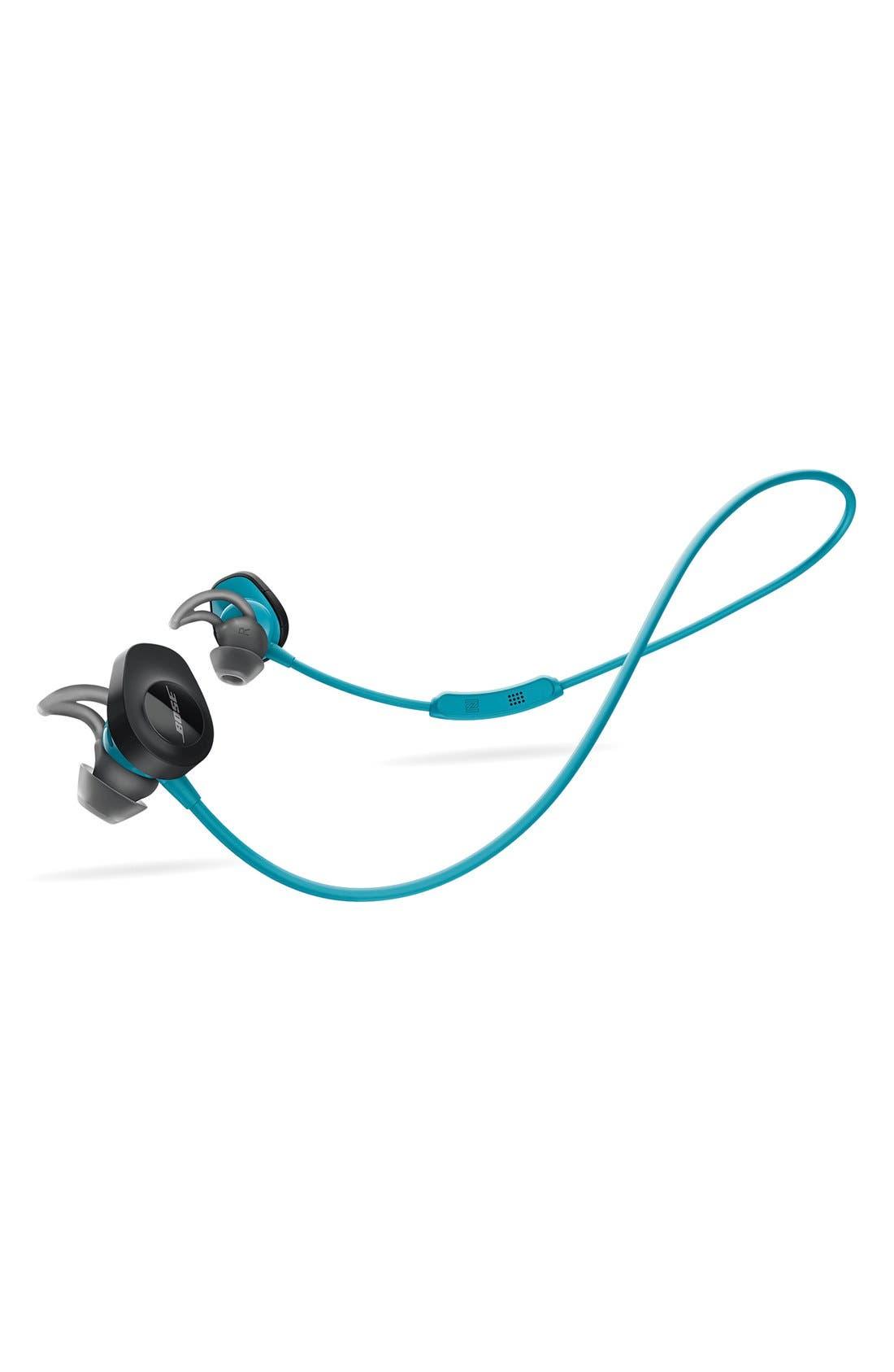 ,                             SoundSport<sup>®</sup> Wireless Headphones,                             Alternate thumbnail 8, color,                             AQUA