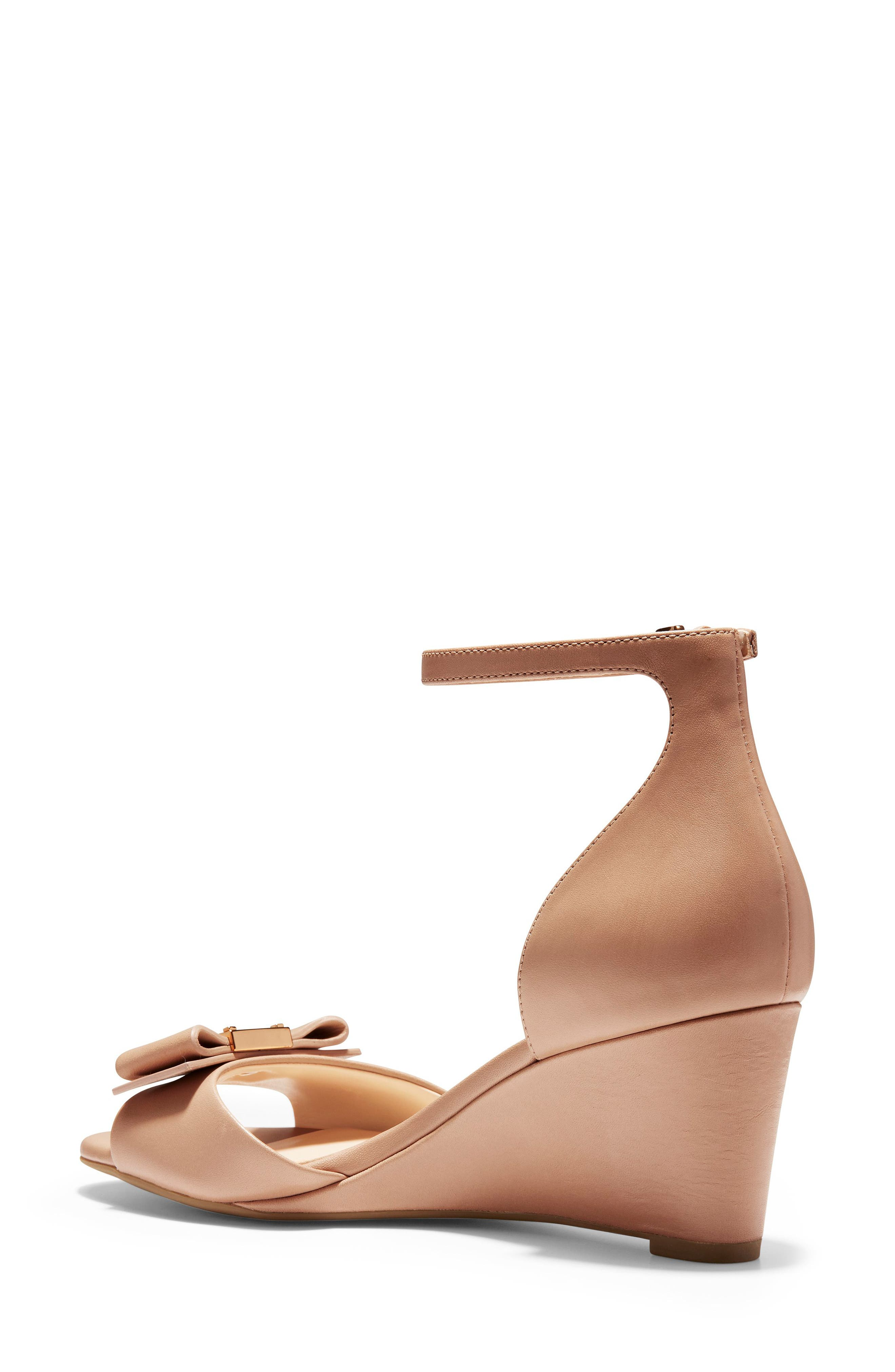 Cole Haan Slippers Tali Bow Wedge Sandal