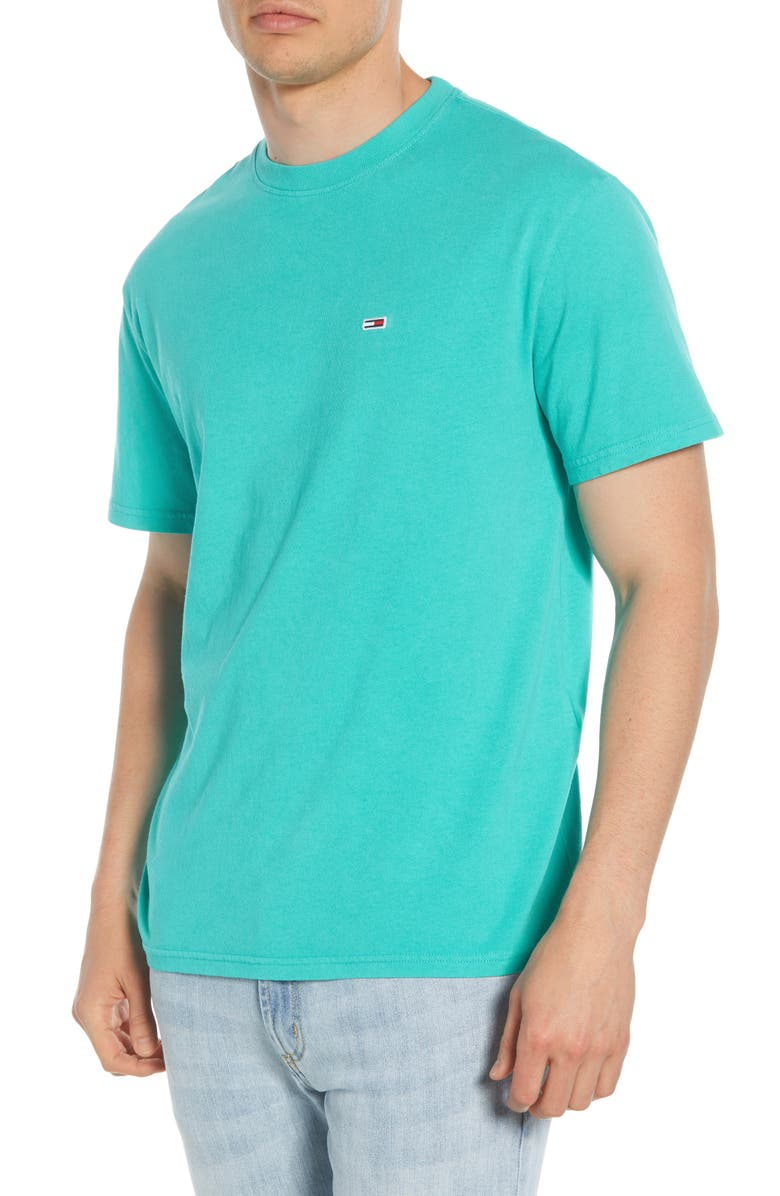 TOMMY JEANS Overwashed T-Shirt, Main, color, CERAMIC