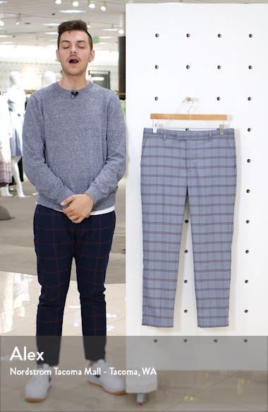Violets Check Skinny Fit Dress Pants, sales video thumbnail