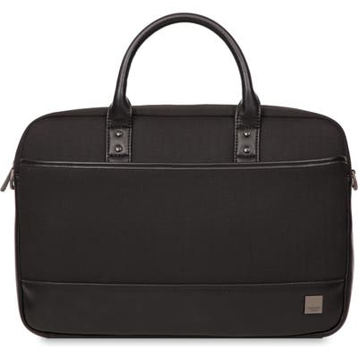 Knomo London Holborn Princeton Briefcase - Black