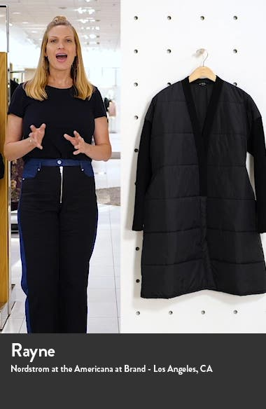 Recycled Nylon & Boiled Wool Coat, sales video thumbnail