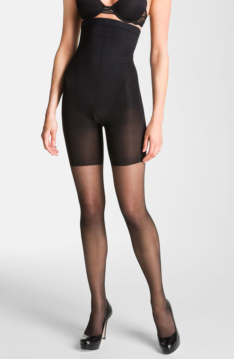 SPANX<SUP>®</SUP> 'Original' High Waisted Shaping Sheers, Main, color, 001