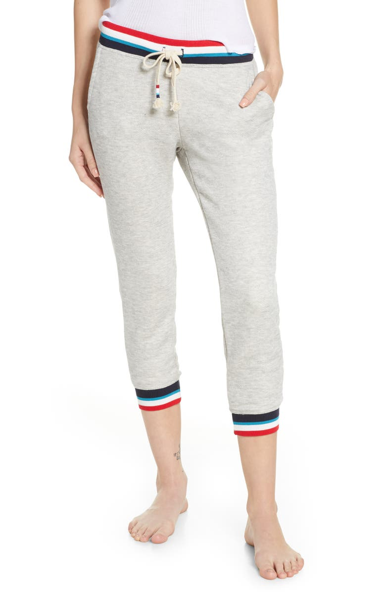 Sol Angeles Flag Lounge Crop Jogger Pants