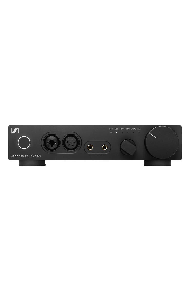 SENNHEISER Senneheiser HDV 820 Digital Headphones Amplifier, Main, color, BLACK