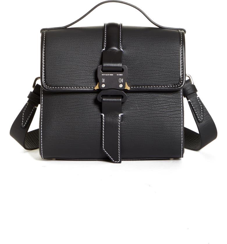 1017 ALYX 9SM Anna Shoulder Bag, Main, color, BLACK
