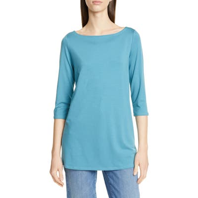 Eileen Fisher Tunic, Blue