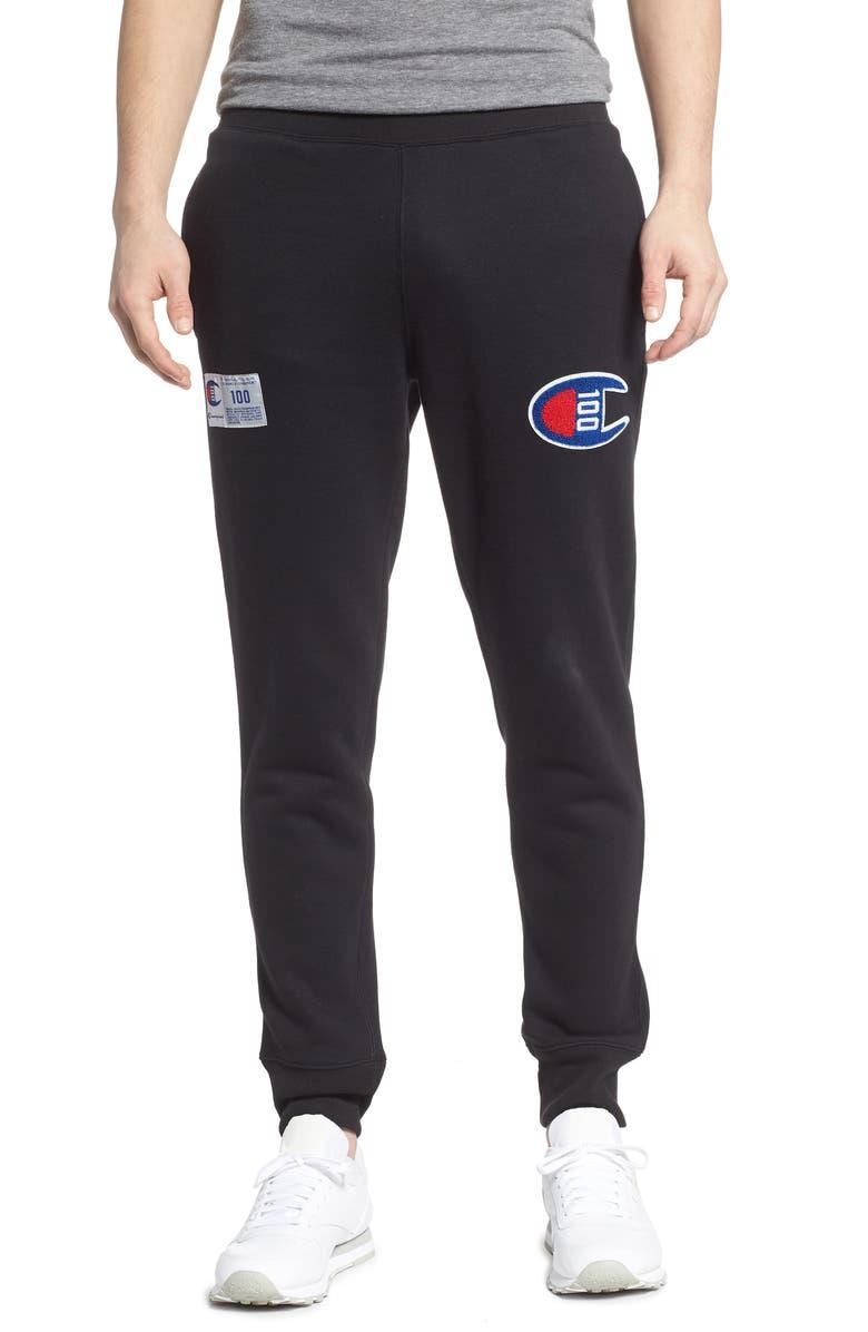 CHAMPION Century Collection Jogger Pants, Main, color, 001