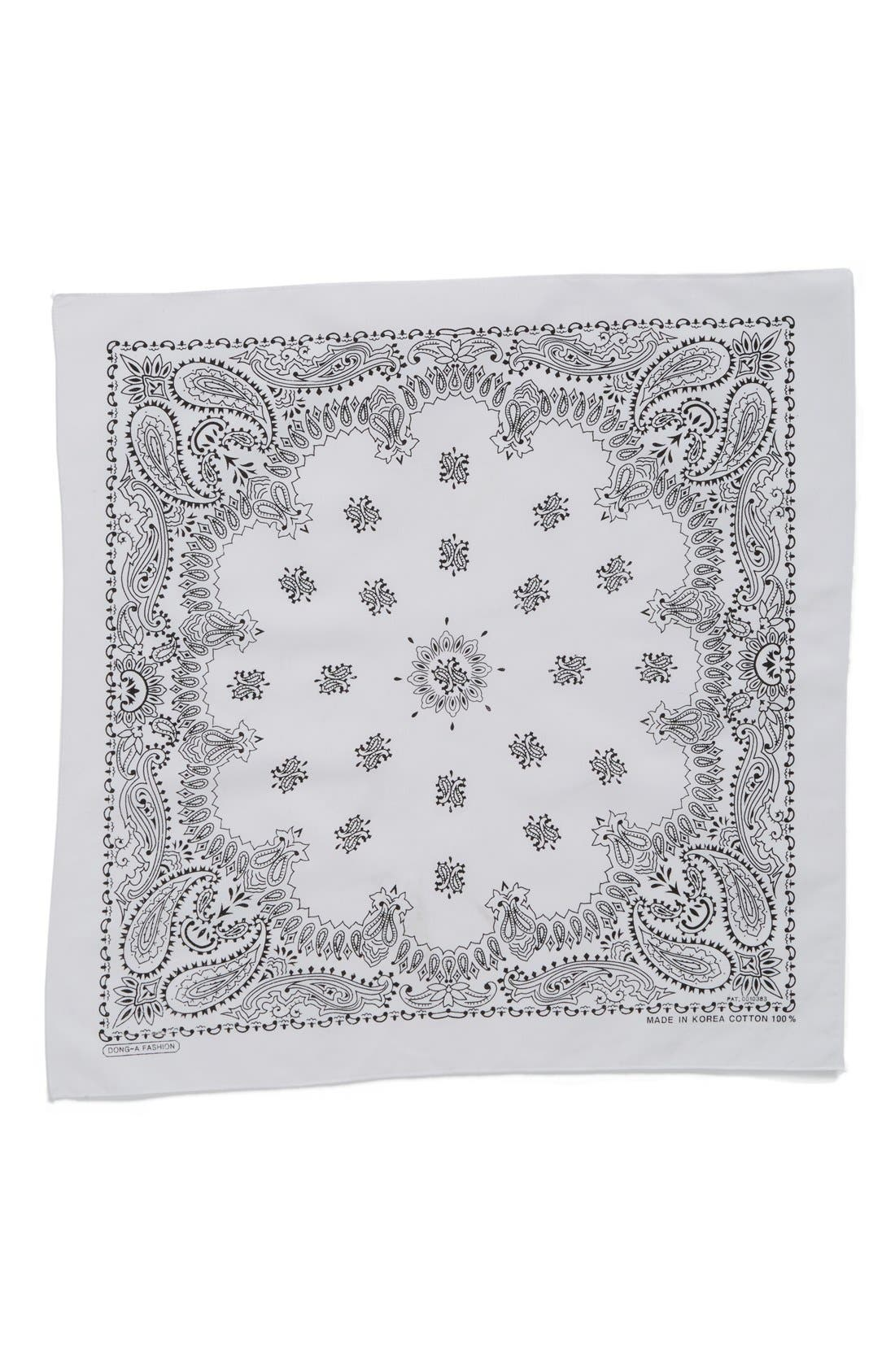 ,                             Cotton Bandana,                             Alternate thumbnail 6, color,                             100
