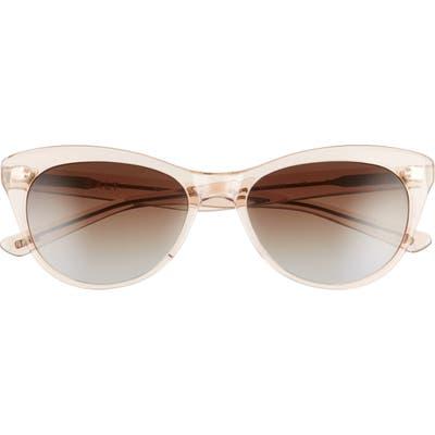 Salt. Hillier 55mm Polarized Cat Eye Sunglasses - Antique Rose