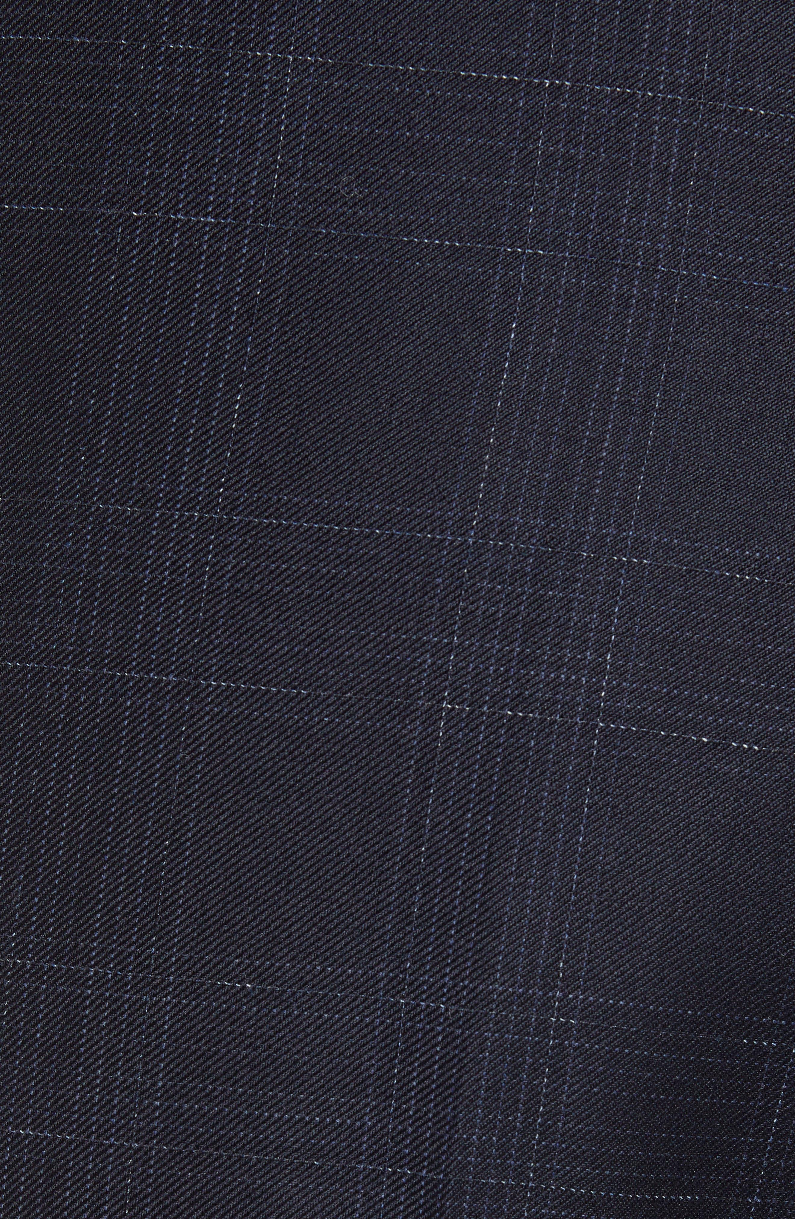 ,                             Genesis Flat Front Plaid Wool Trousers,                             Alternate thumbnail 11, color,                             411