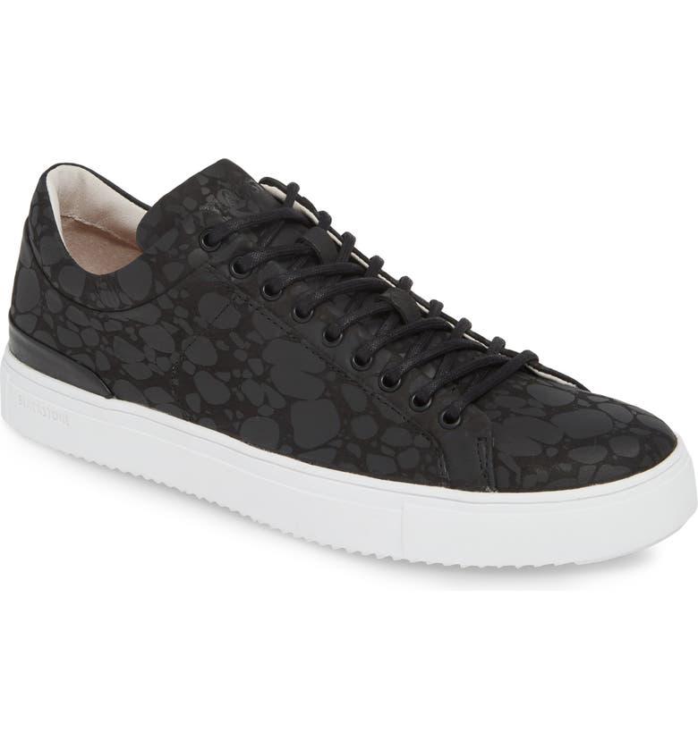 BLACKSTONE RM11 Sneaker, Main, color, BLACK/BLACK LEATHER