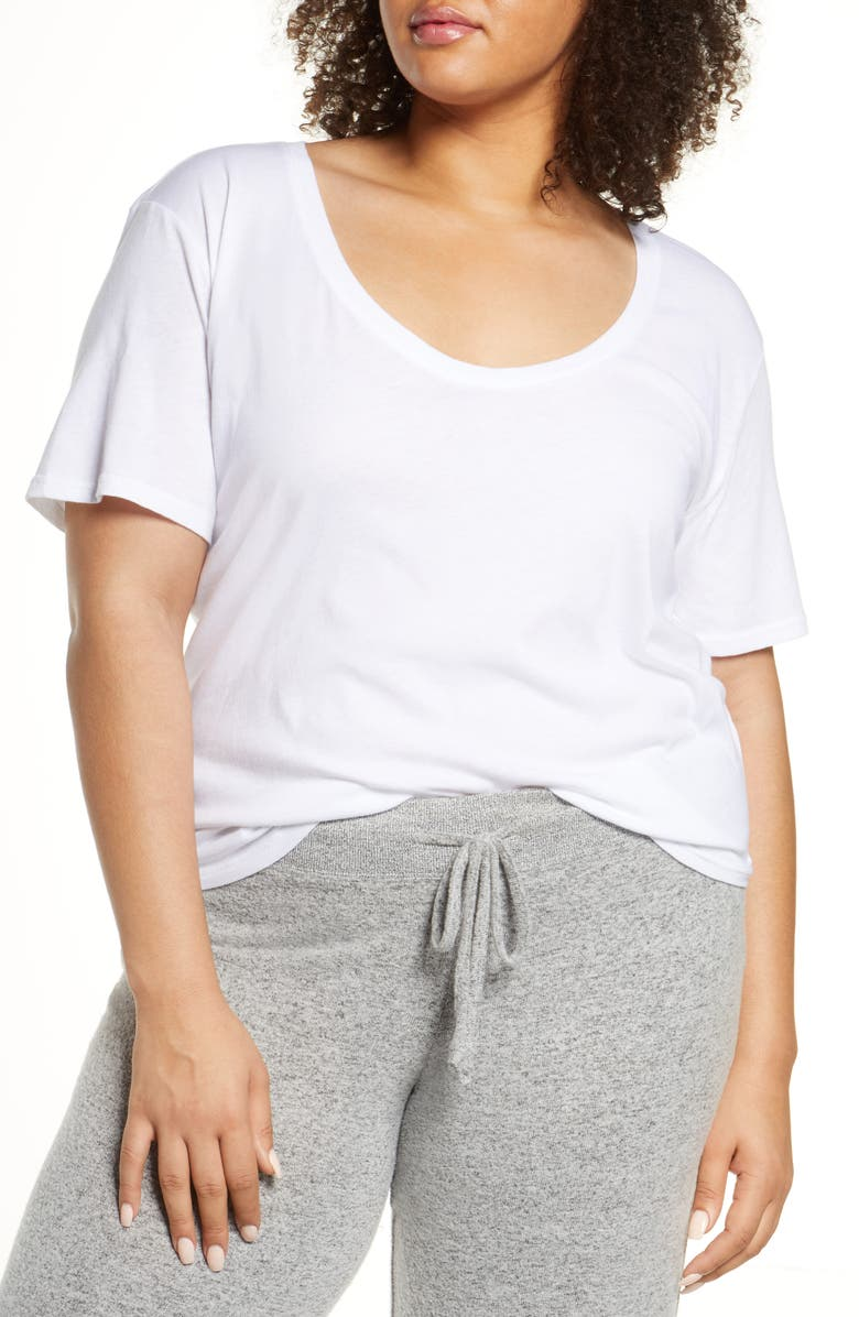 BP. All Day T-Shirt, Main, color, WHITE