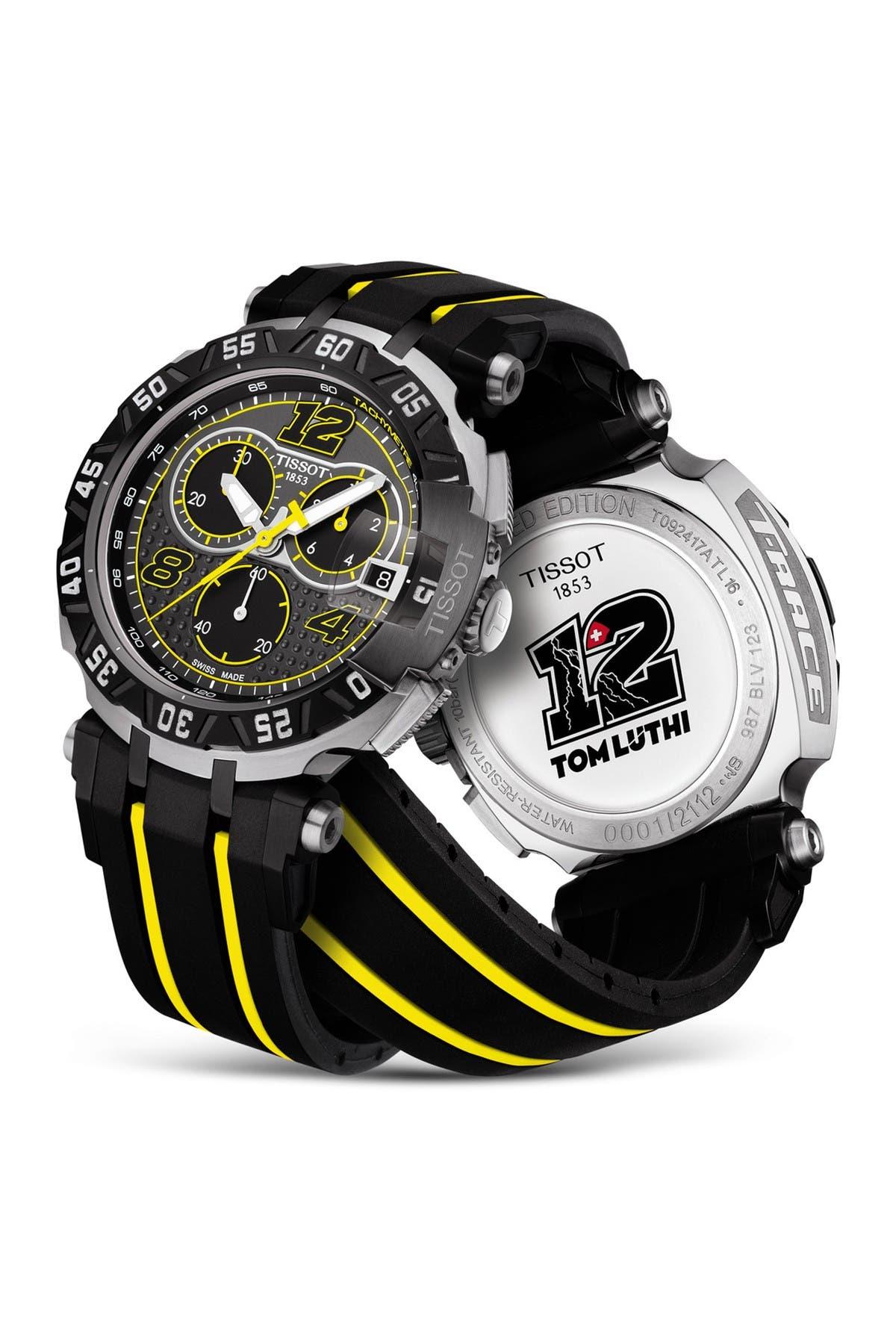 Tissot Men's T-Race Thomas Luthi 2016 Sport Watch, 47.2mm