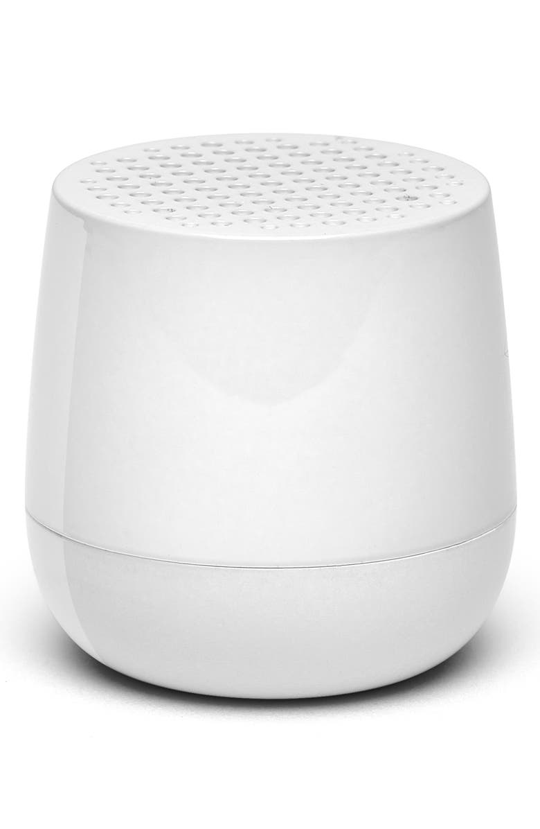 LEXON MINO Glossy Bluetooth<sup>®</sup> Speaker, Main, color, WHITE