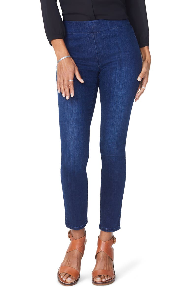 NYDJ Alina Pull-On Ankle Jeans, Main, color, COOPER