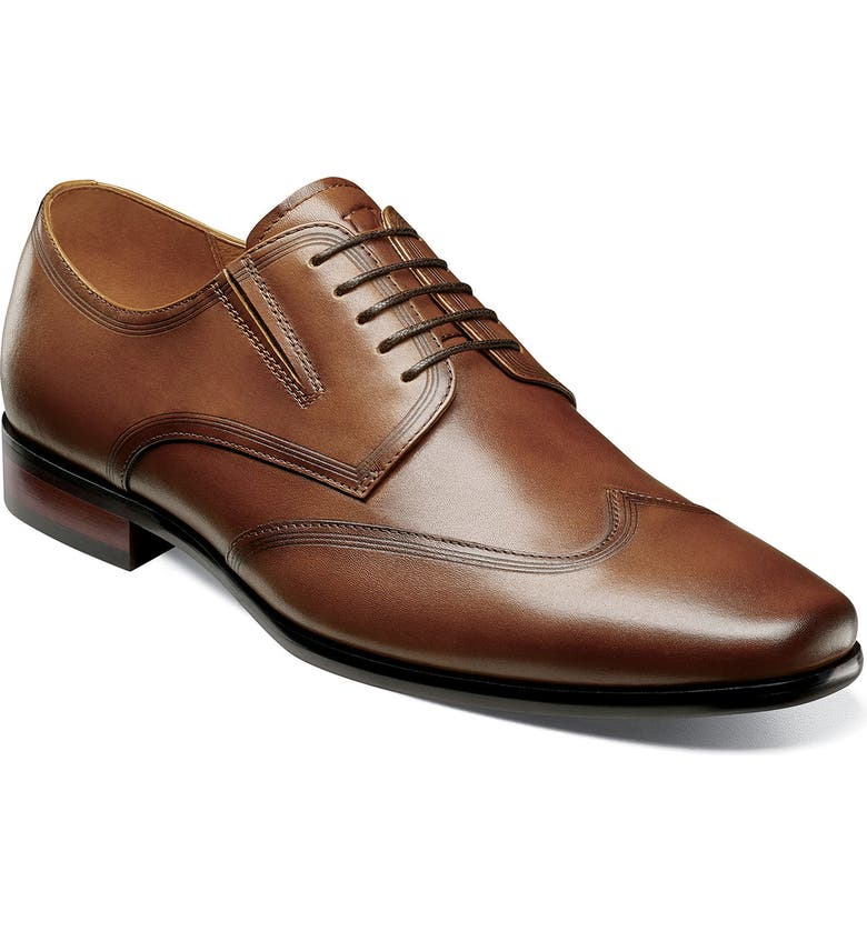 FLORSHEIM Postino Wingtip, Main, color, COGNAC