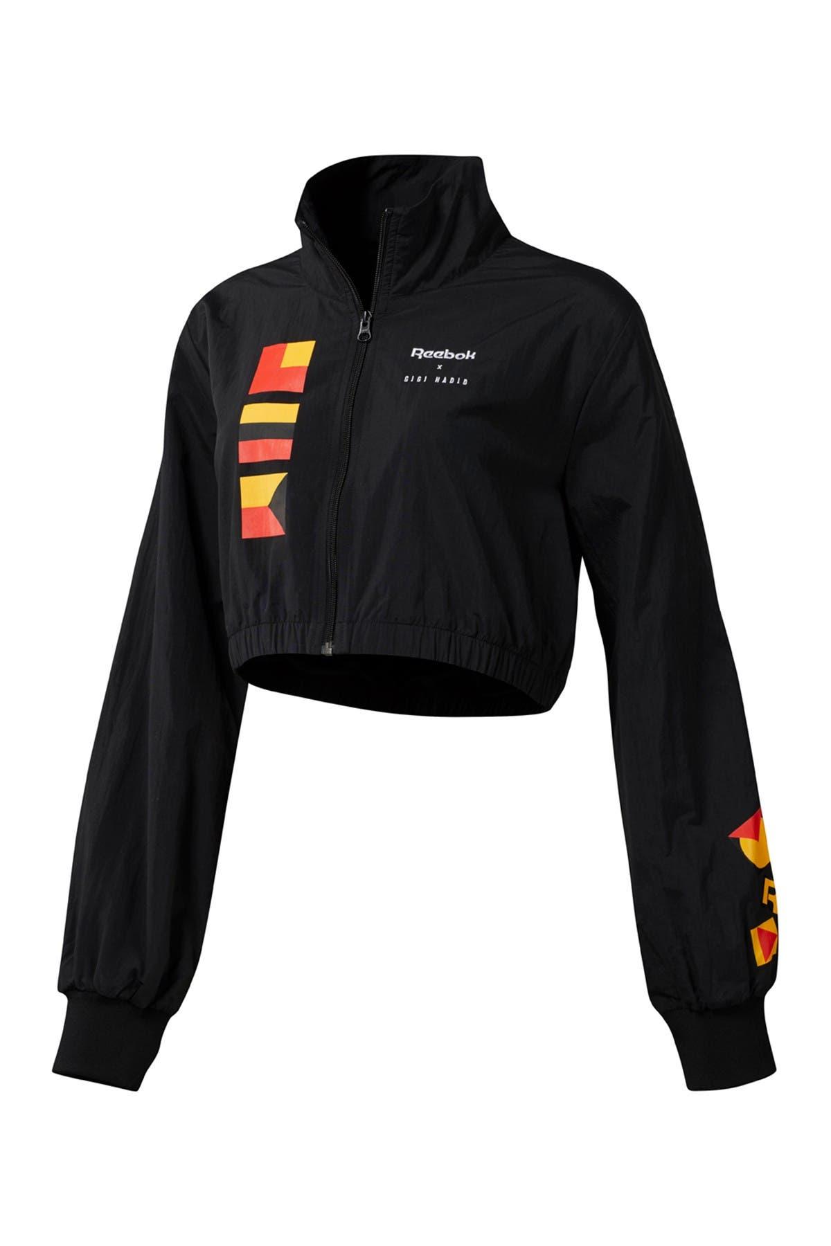 Image of Reebok x Gigi Hadid Cropped Track Jacket