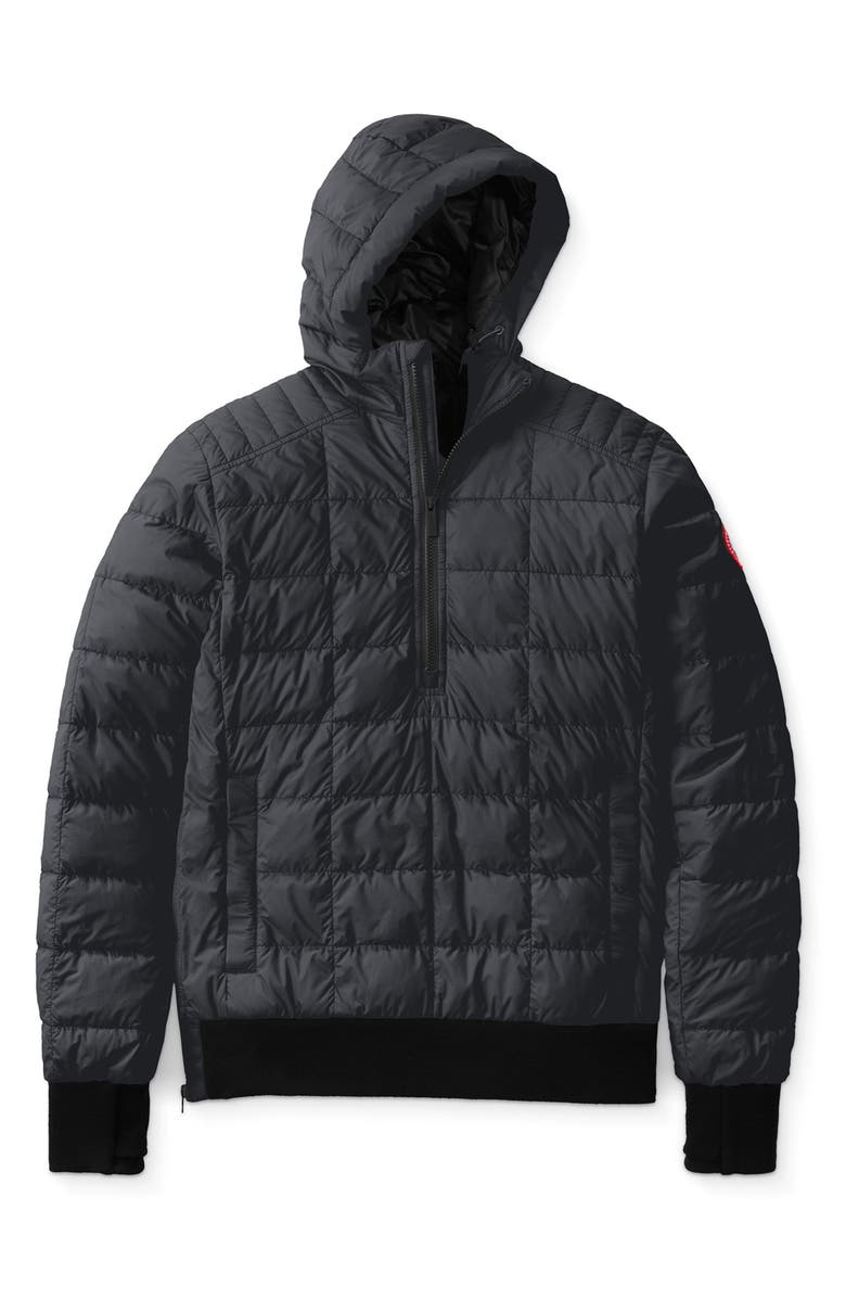 CANADA GOOSE Wilmington Packable 675 Fill Power Down Pullover Jacket, Main, color, BLACK