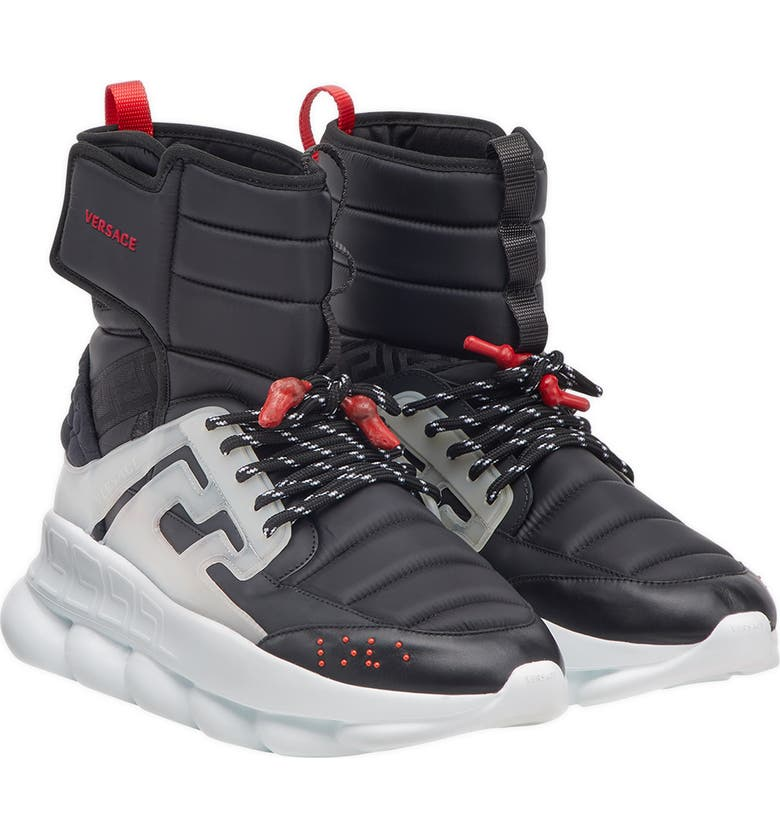 Versace Chain Reaction High Top Sneaker (Men) | Nordstrom