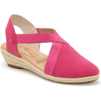 Me Too Nissa Espadrille Wedge- Pink