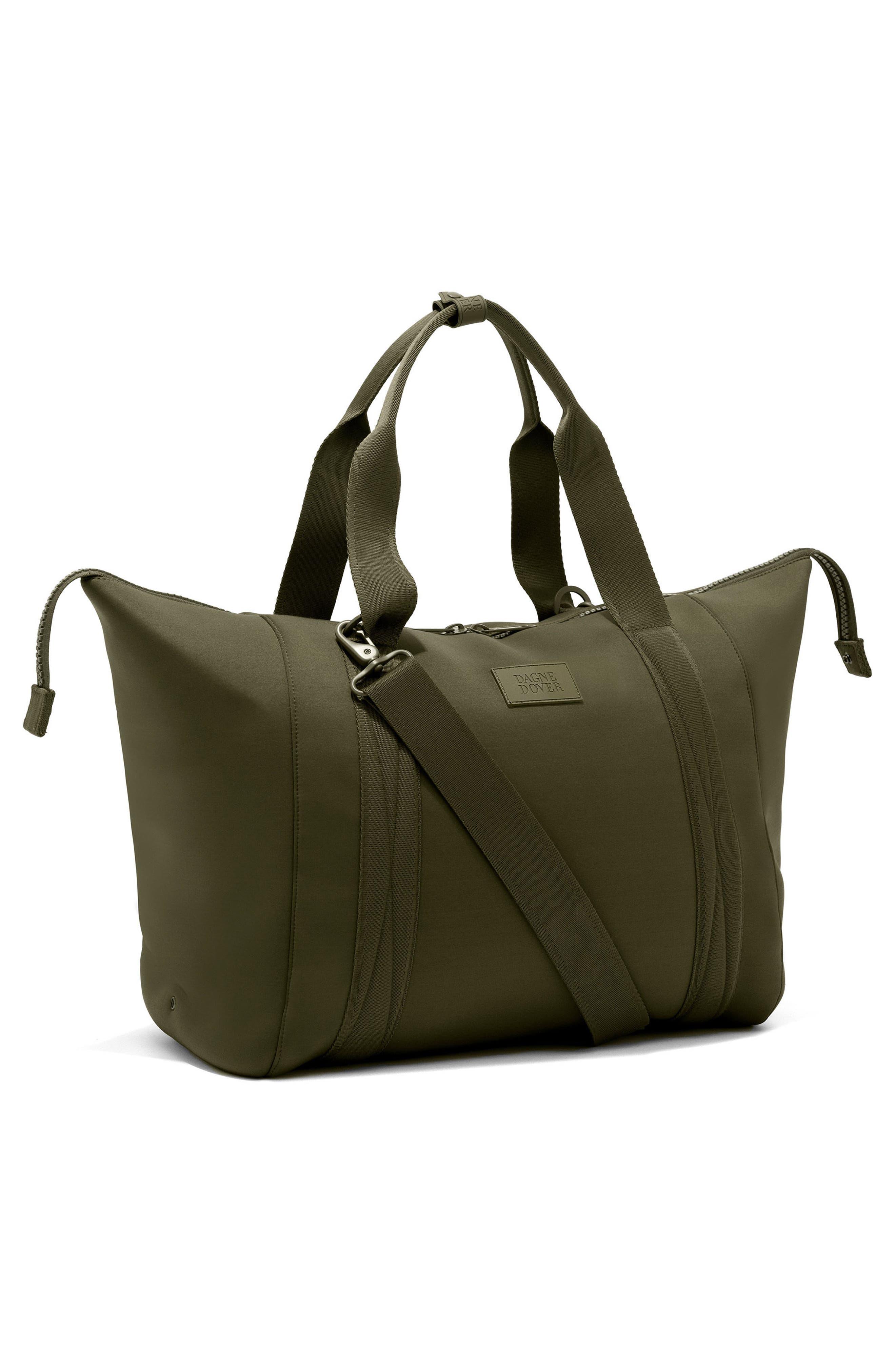 ,                             365 Large Landon Neoprene Carryall Duffle Bag,                             Alternate thumbnail 5, color,                             DARK MOSS