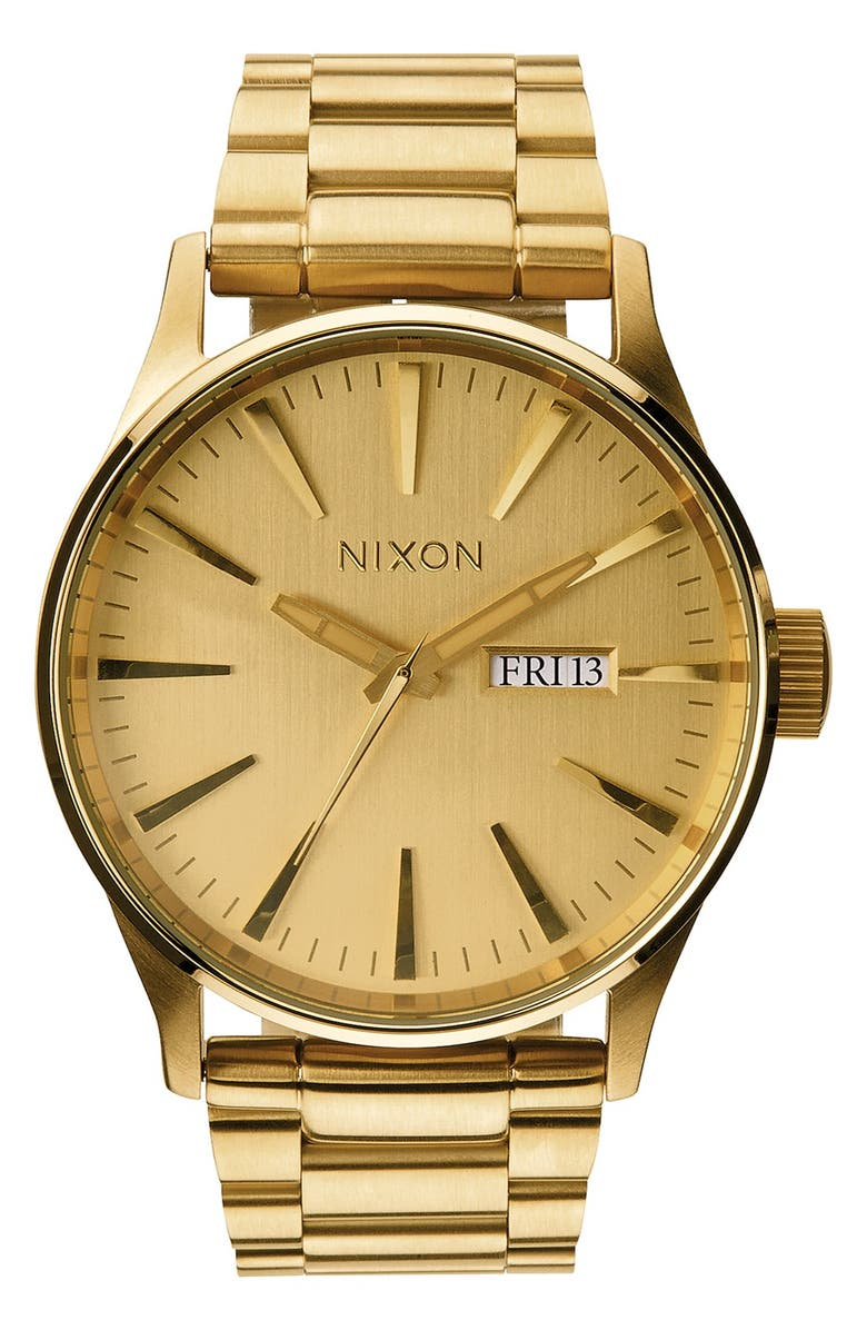 Nixon Sentry Bracelet Watch 42mm