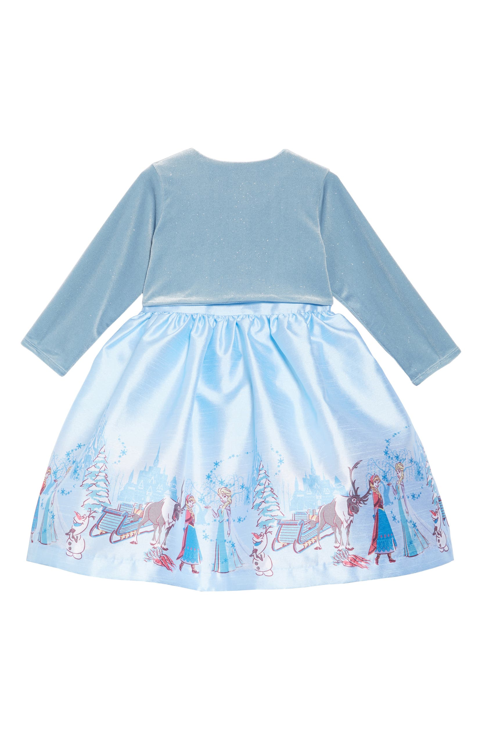 c2f5f8214479 Pippa & Julie x Disney® Frozen Border Print Dress & Jacket Set (Toddler  Girls & Little Girls) | Nordstrom