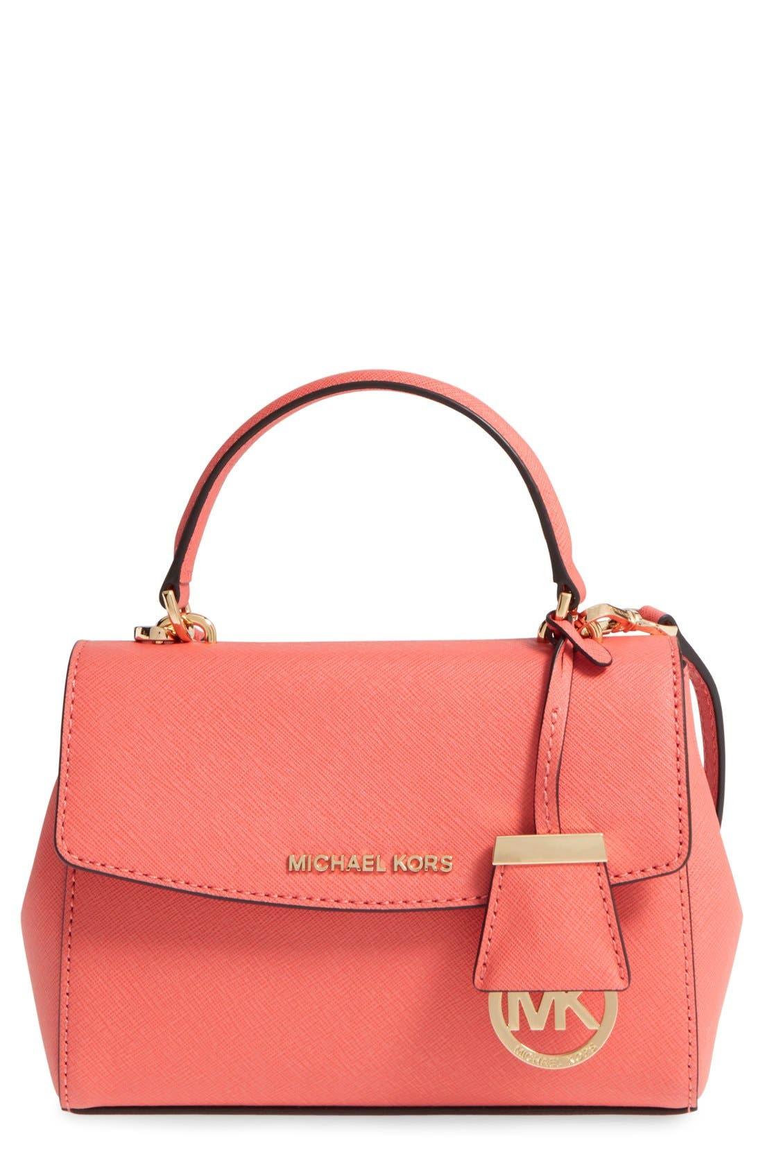 ,                             'Extra Small Ava' Leather Crossbody Bag,                             Main thumbnail 22, color,                             651