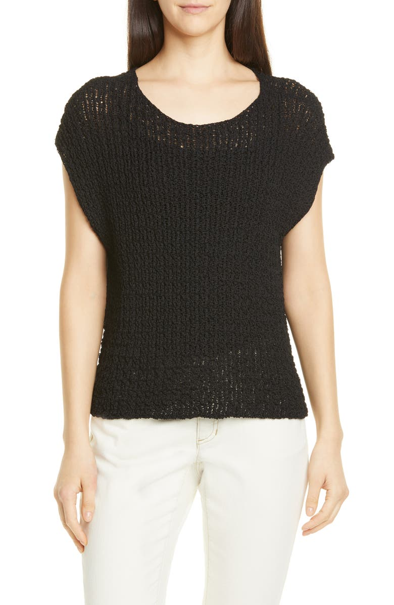 Eileen Fisher Open Knit Top